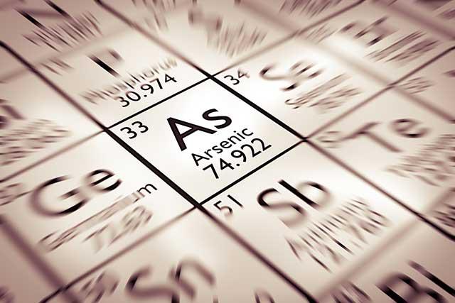 Arsenic trioxide is used in the treatment of acute promyelocytic leukemia.