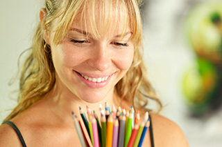 The act of coloring can have benefits for cancer patients.