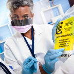 Clinicians discuss chemotherapy drug handling