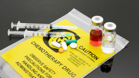 Chemotherapy drugs can require special handling.