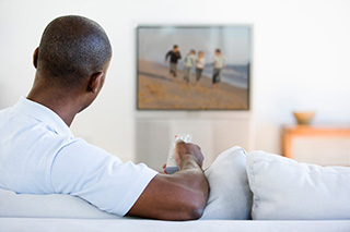 Too much TV lowers prostate cancer survival odds.