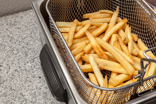 French fries are high in unhealthy fats.