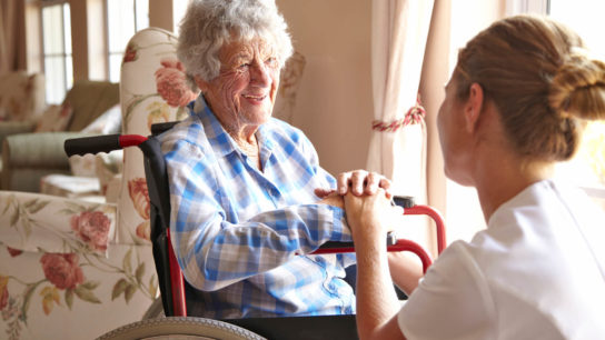 Nursing home staff and not typically equipped to manage cancer issues in the elderly.
