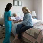 Providing end-of-life care.