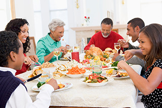 Caring for the caregiver during special occasions and holidays