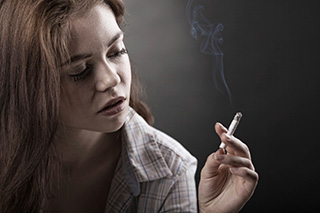 For many, cigarette smoking is a habit formed in younger years.