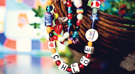 Beads of Courage: A linear ?story of a child's bravery on the journey to recovery