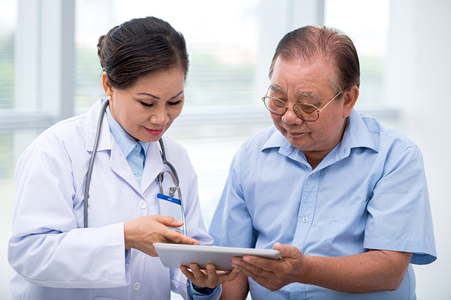 Tablet apps are seeing more use in patient care.