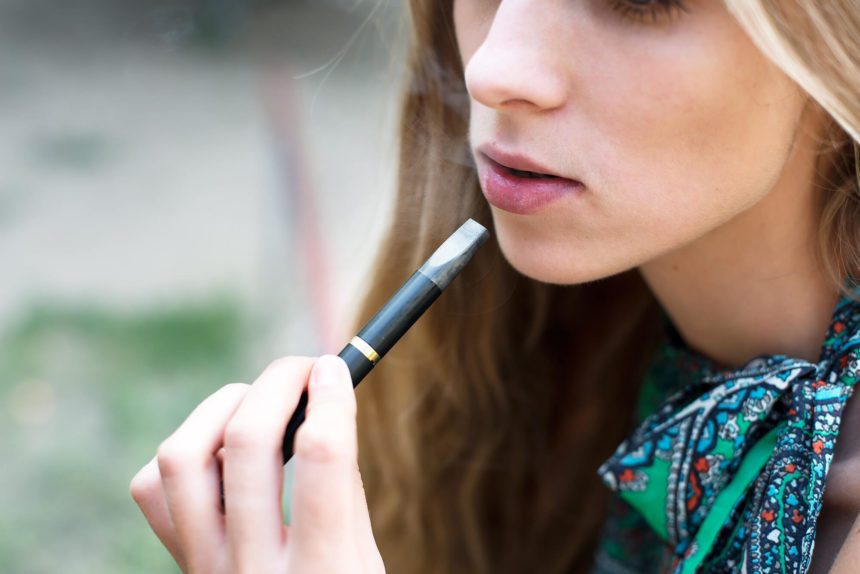 Vaping is often marketing to and can be attractive to adolescents.