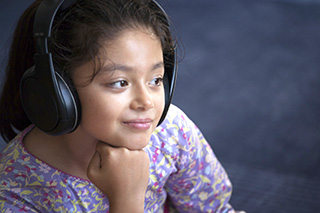 Evidence suggests that music can help pediatric patients handle pain.