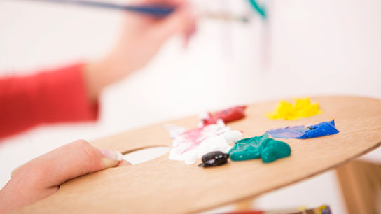 Art therapy can be effective palliative care.