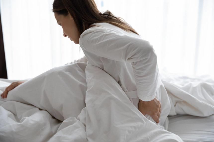 A patient experiences fibromyalgia.