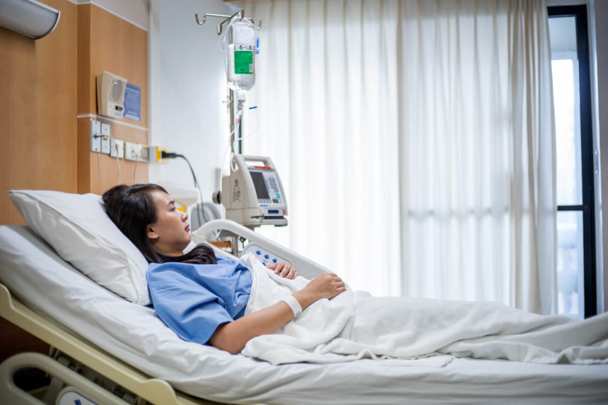 Cancer treatment can affect length of hospital stay.