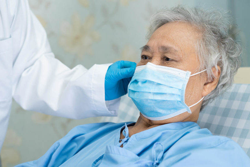 Caring for an older patient during a pandemic.