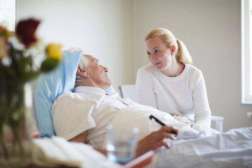 Respecting the wishes of a terminal patient.