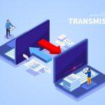 Internet network files transfer
