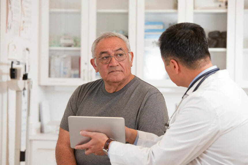 Men with GPS scores greater than 40 had a poor disease prognosis after surgery and their disease was likely to behave like that of high-risk patients.
